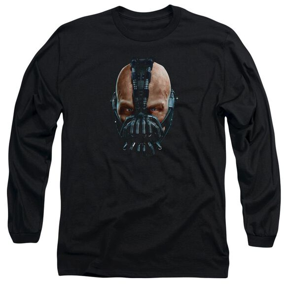 Dark Knight Rises Painted Bane Long Sleeve Adult T-Shirt