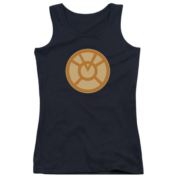 Green Lantern Orange Symbol Juniors Tank Top