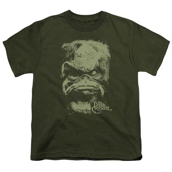 Dark Crystal Aughra Short Sleeve Youth Military T-Shirt