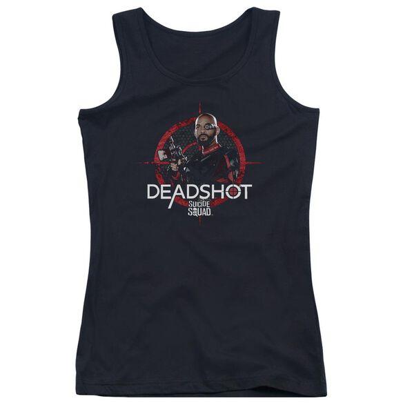 Suicide Squad Deadshot Target Juniors Tank Top