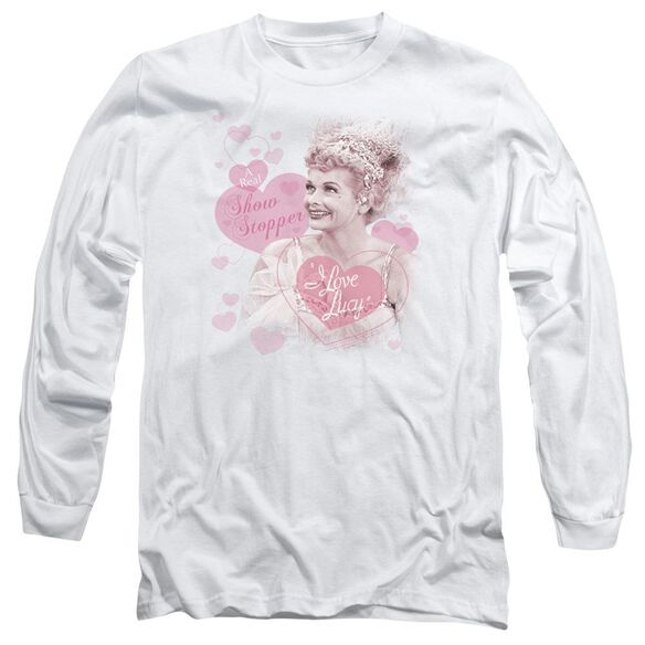 I Love Lucy Show Stopper Long Sleeve Adult T-Shirt