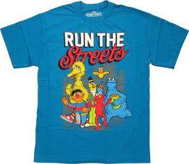 Sesame Street Run the Streets T-Shirt