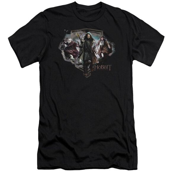 The Hobbit Three Dwarves Short Sleeve Adult T-Shirt
