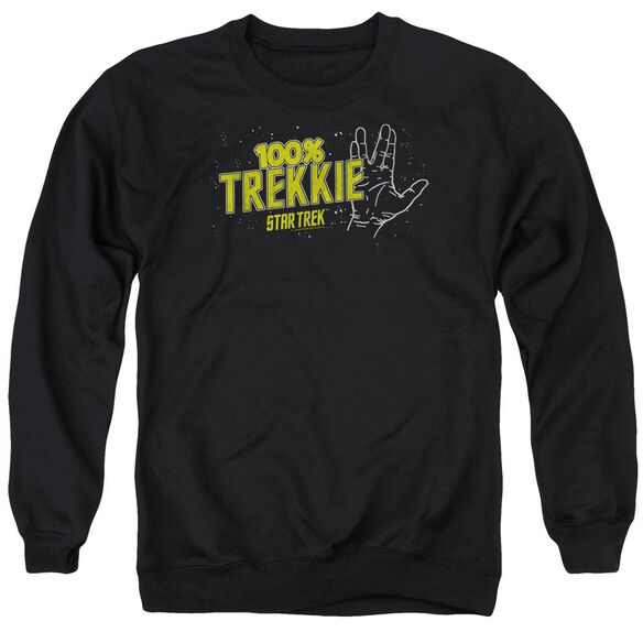 Star Trek Trekkie Adult Crewneck Sweatshirt