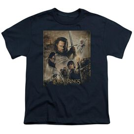 Lor Rotk Poster Short Sleeve Youth T-Shirt