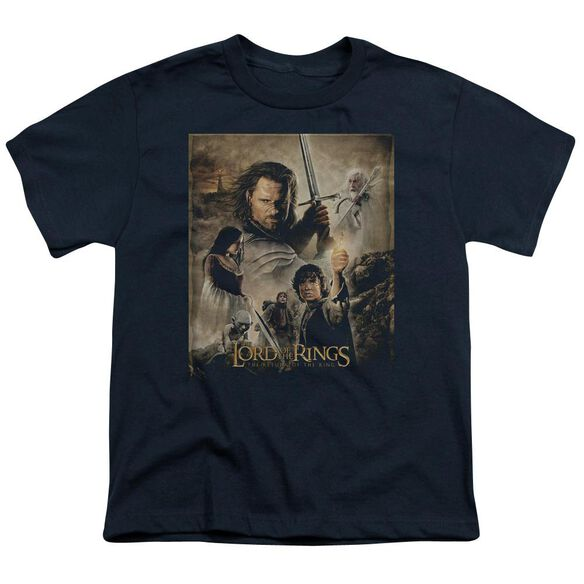 Lor Rotk Poster Short Sleeve Youth T-Shirt