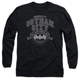 Batman University Of Gotham Long Sleeve Adult T-Shirt