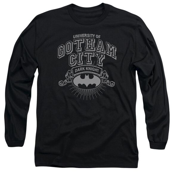 Batman University Of Gotham Long Sleeve Adult T-Shirt