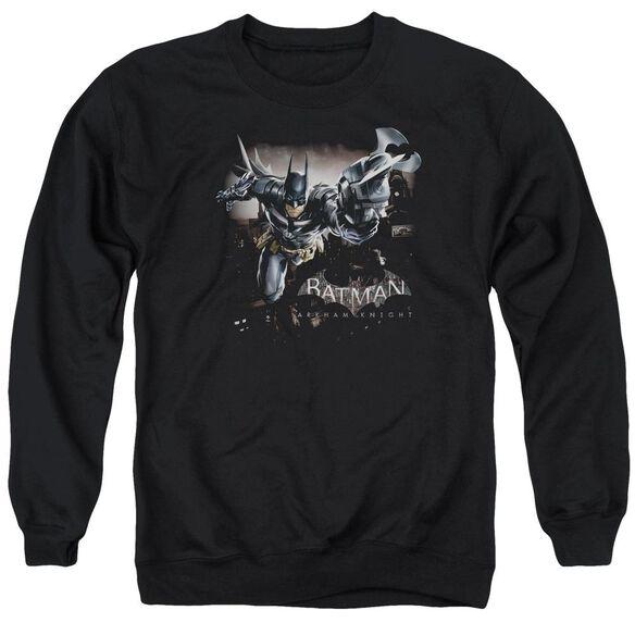 Batman Arkham Knight Grapple Adult Crewneck Sweatshirt