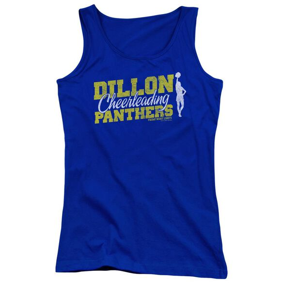 Friday Night Lights Cheer Squad Juniors Tank Top Royal