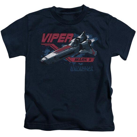 Bsg Viper Mark Ii Short Sleeve Juvenile Navy T-Shirt