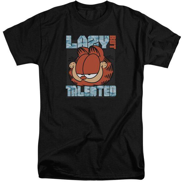 Garfield Lazy But Talented Short Sleeve Adult Tall T-Shirt