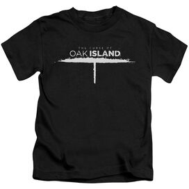 The Curse Of Oak Island Tunnel Logo Short Sleeve Juvenile T-Shirt