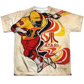 Atari Football Short Sleeve Youth Poly Crew T-Shirt