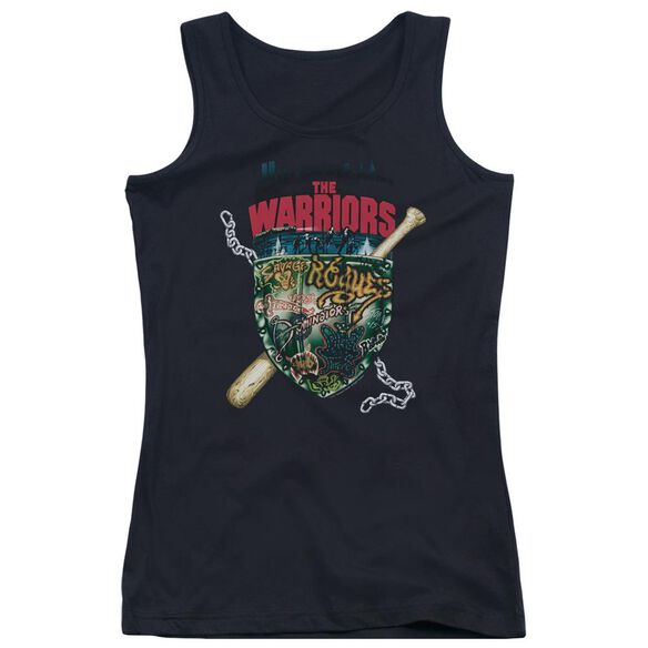 Warriors Shield Juniors Tank Top