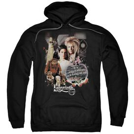Labyrinth 25 Years Of Magic Adult Pull Over Hoodie