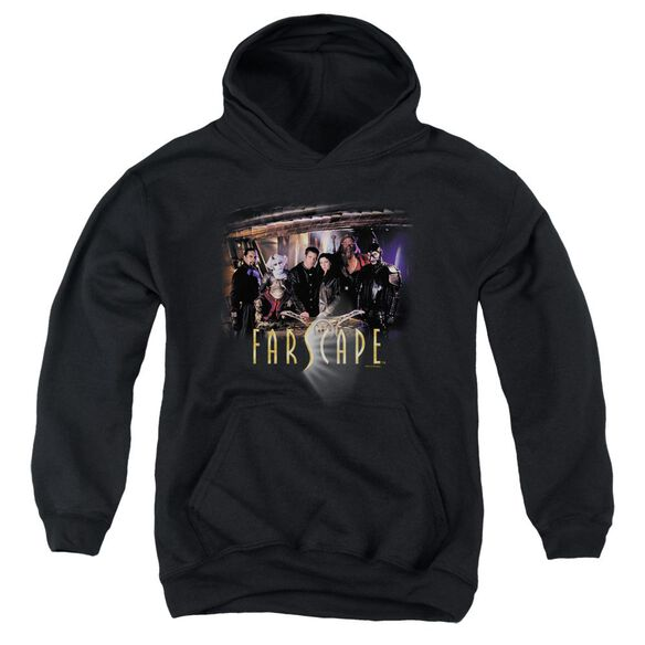 Farscape Cast Youth Pull Over Hoodie