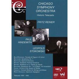 Chicago Symphony Orchestra: Historic Telecasts: Fritz Reiner / Leopold Stokowski / Paul Hindemith