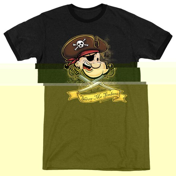 Popeye Shiver Me Timbers - Adult Heather Ringer