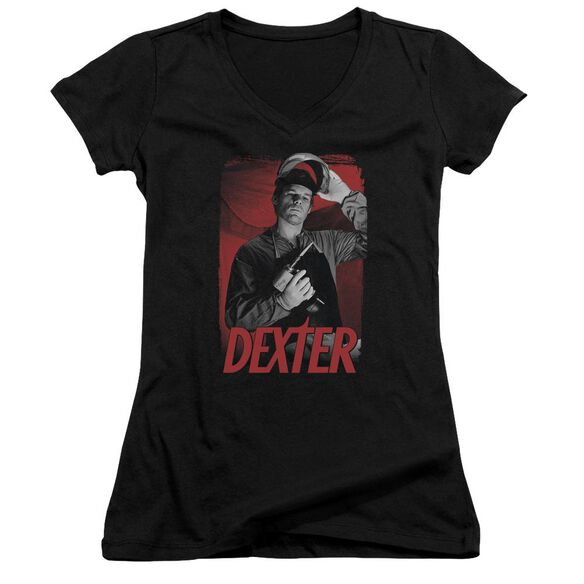 Dexter See Saw Junior V Neck T-Shirt