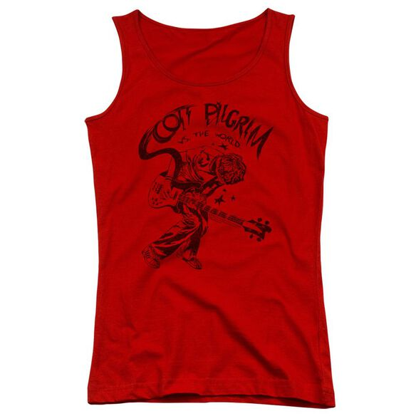 Scott Pilgrim Rockin Juniors Tank Top