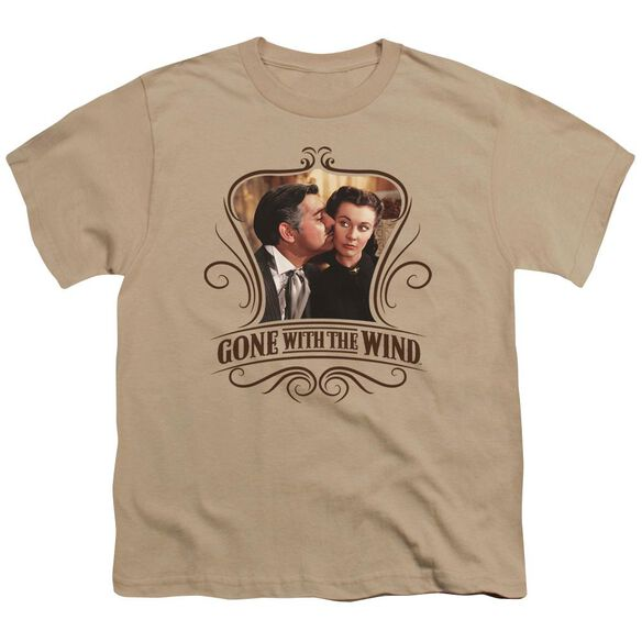 Gone With The Wind Kissed Short Sleeve Youth T-Shirt
