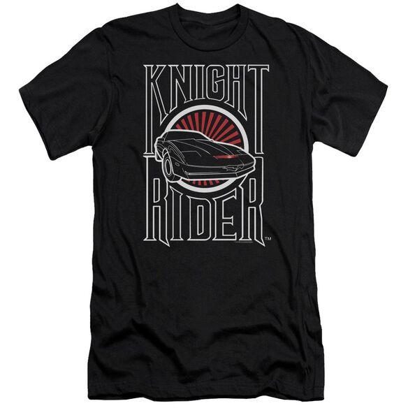 Knight Rider Logo Short Sleeve Adult T-Shirt