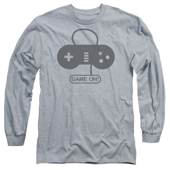 Game On Long Sleeve Adult Athletic T-Shirt
