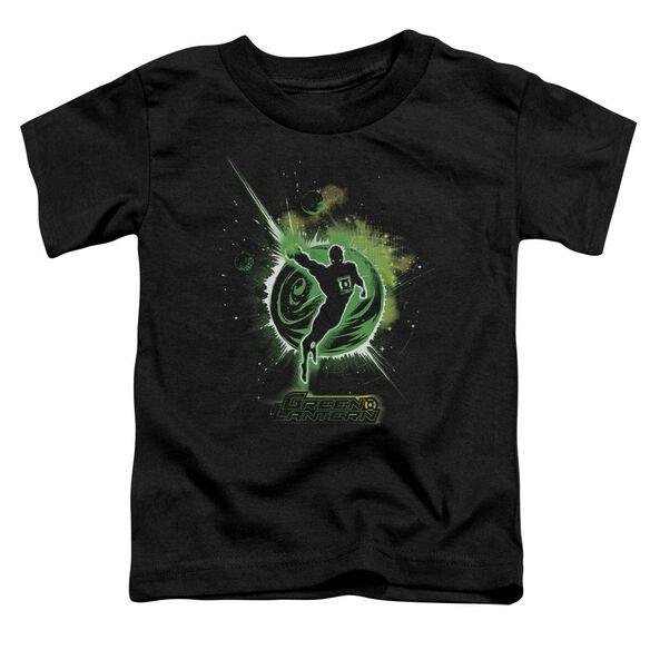Green Lantern Shadow Lantern Short Sleeve Toddler Tee Black Sm T-Shirt