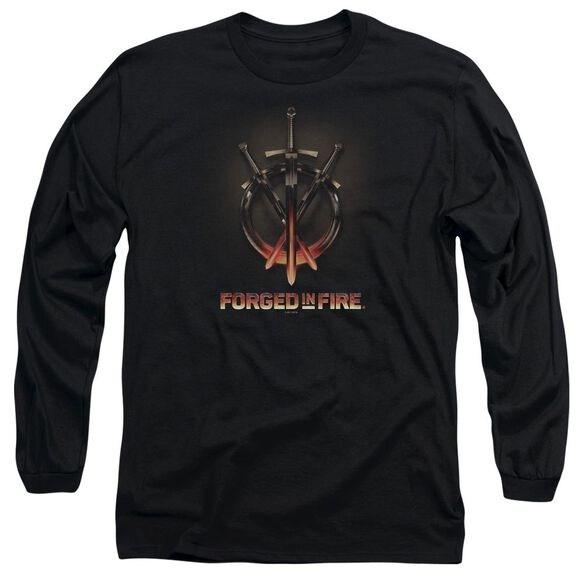 Forged In Fire Swords Long Sleeve Adult T-Shirt