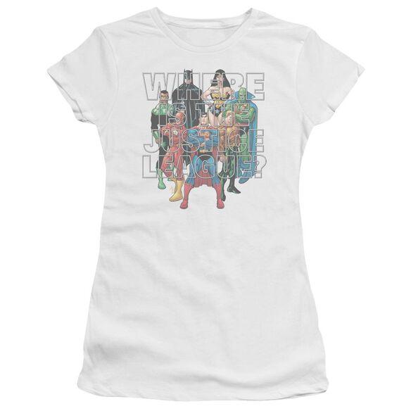 Jla Classified #1 Cover Short Sleeve Junior Sheer T-Shirt