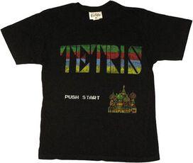 Tetris Menu T-Shirt Sheer