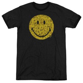 Smiley World Rosey Face Adult Heather Ringer