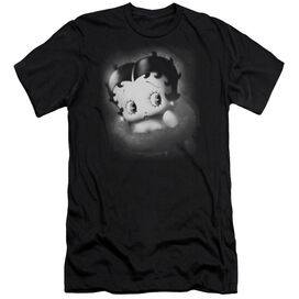 BETTY BOOP VINTAGE STAR - S/S ADULT 30/1 - BLACK T-Shirt