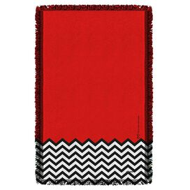 Twin Peaks Red Room Woven Throw