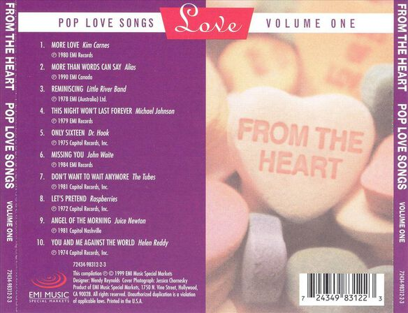 From The Heart Pop Love S
