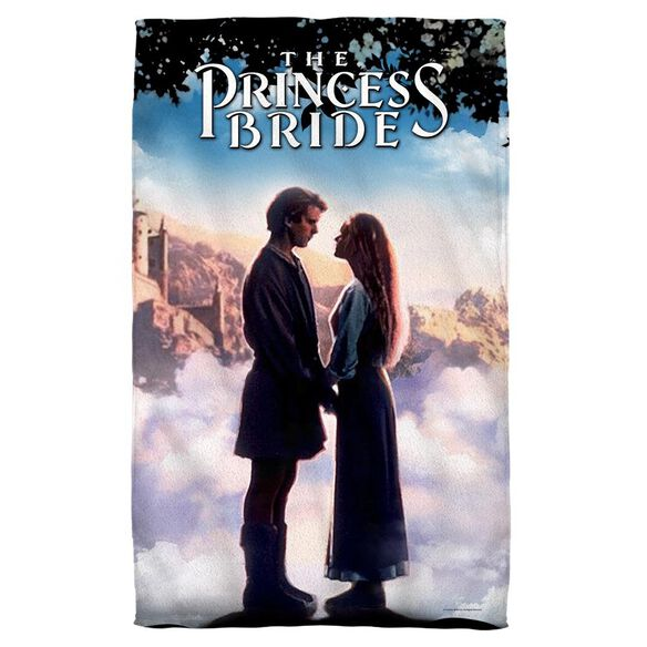 Princess Bride Storybook Love Face Hand Towel