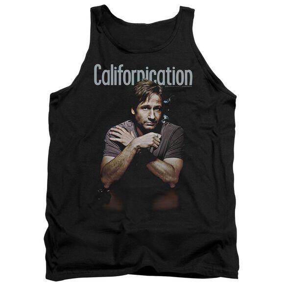 Californication Smoking - Adult Tank - Black