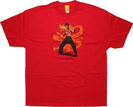 Bruce Lee Action Pose T-Shirt