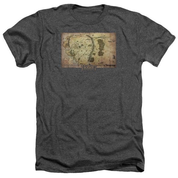 The Hobbit Middle Earth Map Adult Heather