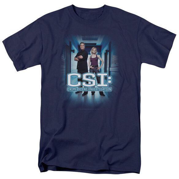 Csi Serious Business Short Sleeve Adult T-Shirt