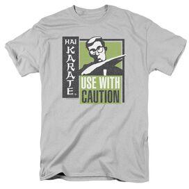 HAI KARATE KARATE CHOP - S/S ADULT 18/1 - SILVER T-Shirt