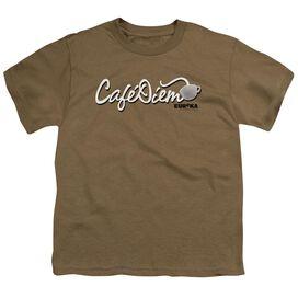 Eureka CafÉ Diem Short Sleeve Youth Safari Safari T-Shirt