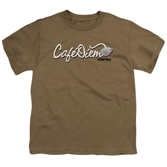 Eureka CafÉ Diem Short Sleeve Youth Safari Safari T-Shirt