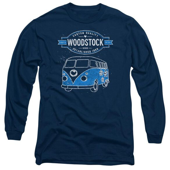 Woodstock Van Long Sleeve Adult T-Shirt
