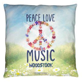 Woodstock Open Love Throw