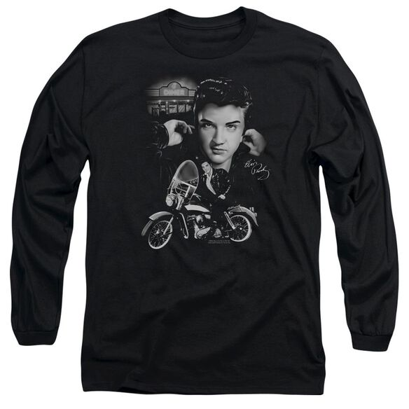 Elvis Presley The King Rides Again Long Sleeve Adult T-Shirt
