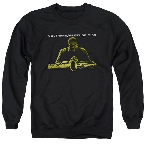John Coltrane Mellow Yellow Adult Crewneck Sweatshirt