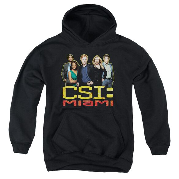 Csi Miami The Cast In Youth Pull Over Hoodie