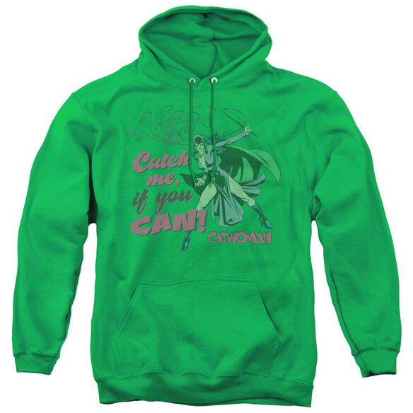Dc Catch Me - Adult Pull-over Hoodie - Kelly Green
